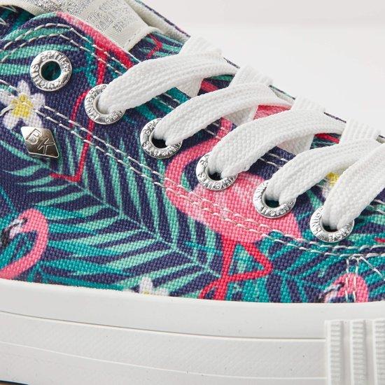 Maat 40 Sneakers British Flamingo Roze Master Dames Laag Lo Knights q8x1wOg
