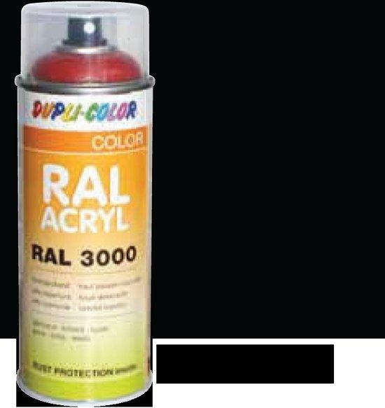 Motip Dupli-Color Spuitbus Acryl Mat - RAL 9005 Blank Aluminium