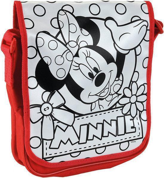 Color Me Minnie Mouse - Tas met Stiften