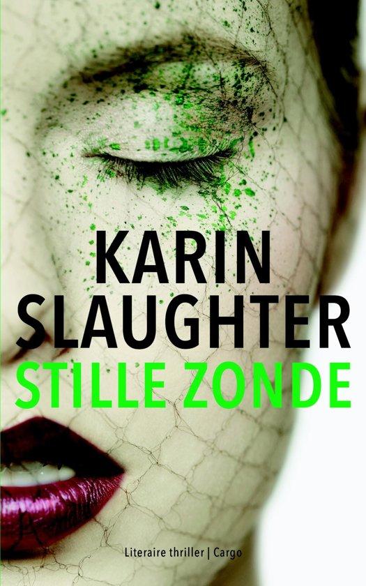 Boek cover Stille zonde van Karin Slaughter (Onbekend)