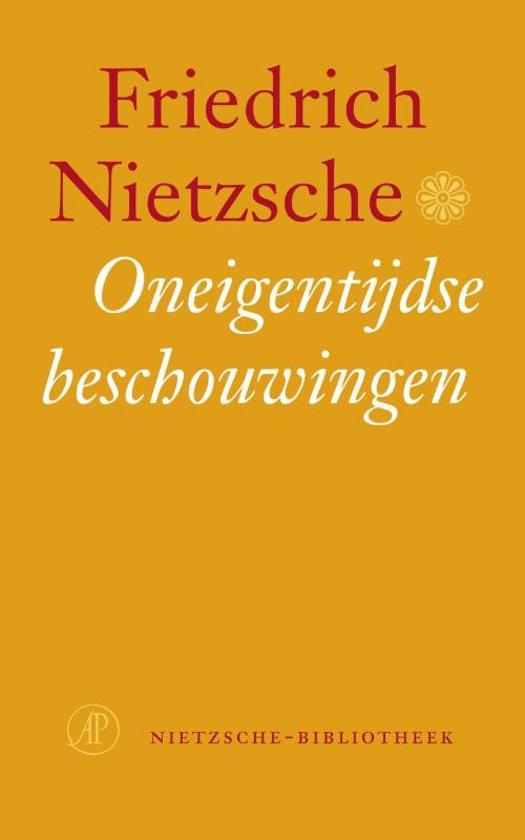 Nietzsche-bibliotheek - Oneigentijdse beschouwingen