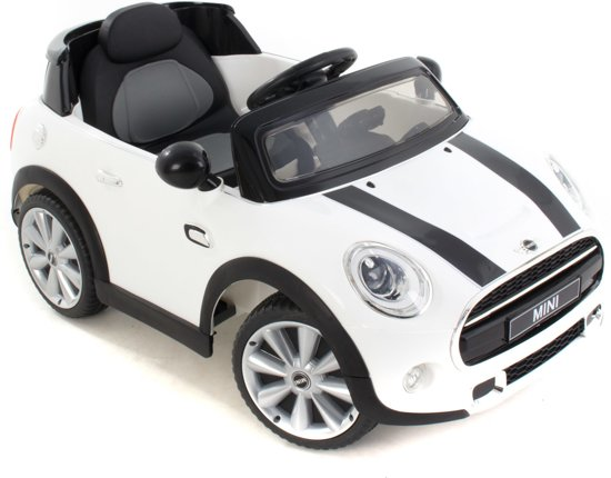 Verbazingwekkend bol.com | Mini Cooper kinderauto wit, BMW | Speelgoed RX-75