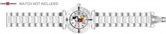 Horlogeband voor Invicta Disney Limited Edition 25669