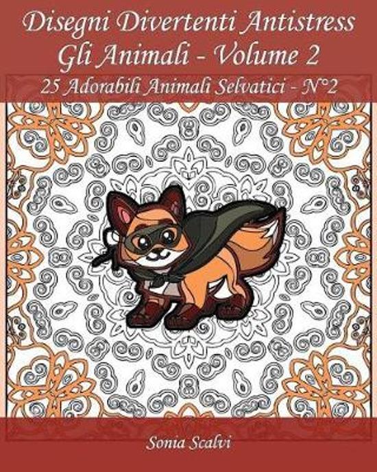 Bolcom Disegni Divertenti Antistress Gli Animali Volume 2