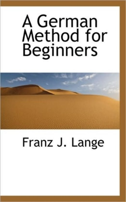 A German Method for Beginners