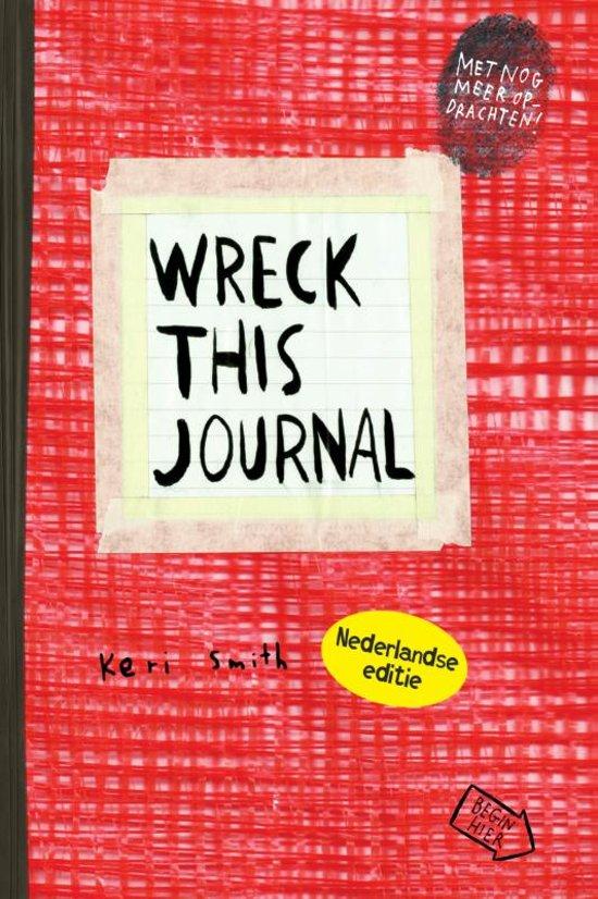 Boek cover Wreck this journal van Keri Smith (Paperback)
