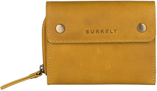 37198e1bbeb BURKELY Desert Daisy wallet M portemonnee - sunny geel