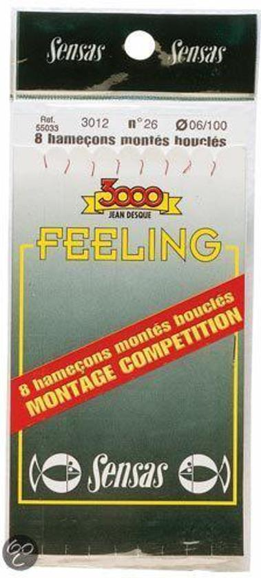 Sensas Onderlijn Feeling 3012 18cm H20/L08 (55030)