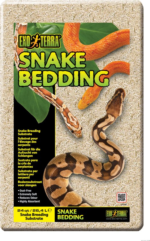 Exo Terra - Snake Bedding Substraat voor Slangen - 26,4L