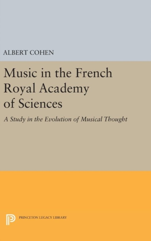 Music in the French Royal Academy of Sciences
