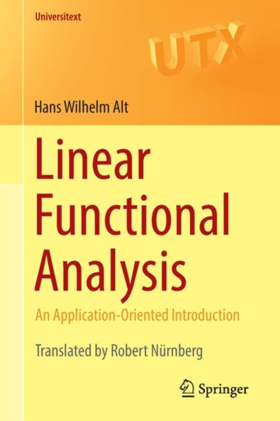 Linear Functional Analysis