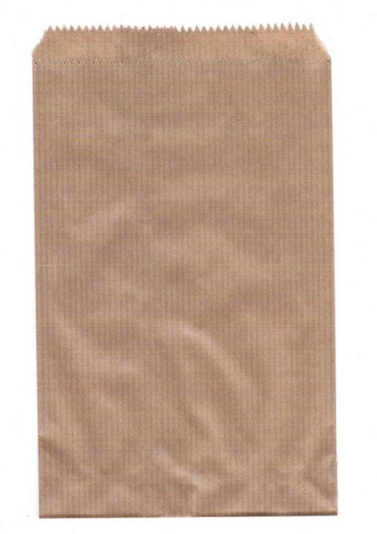 bol   papieren zakjes 13,5x18 cm bruin 50 stuks