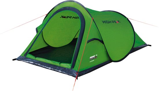 High Peak Campo Pop-up tent - 2-Persoons - Groen