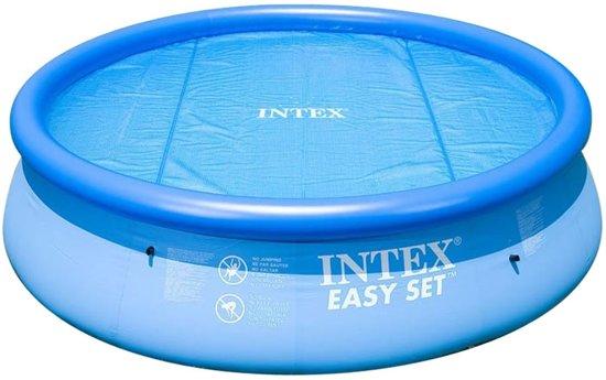 Intex zwembad afdekzeil solar 488 cm for Afdekzeil zwembad blokker