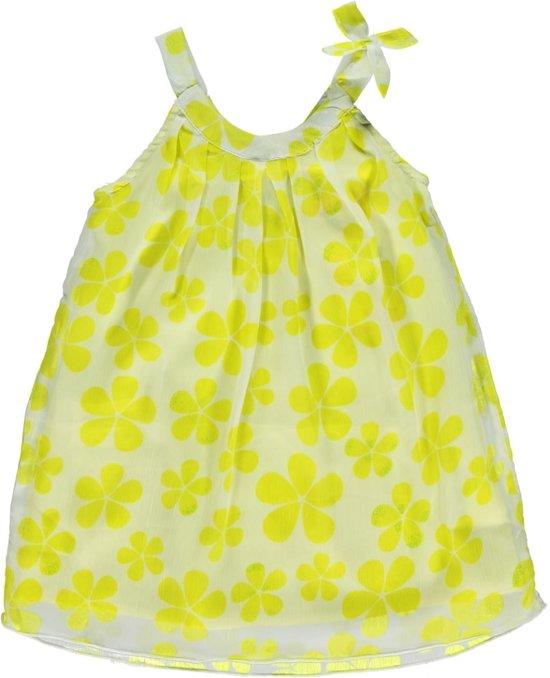 Losan meisjesskleding -voile jurk met bloempatroon  P35-maat 92