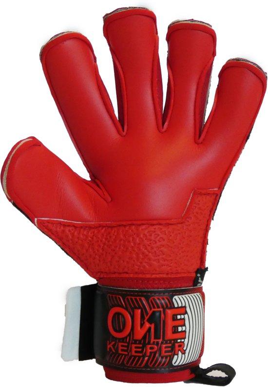 bol.com | ONEkeeper Fusion Pupil Rood Keepershandschoenen - Maat 6