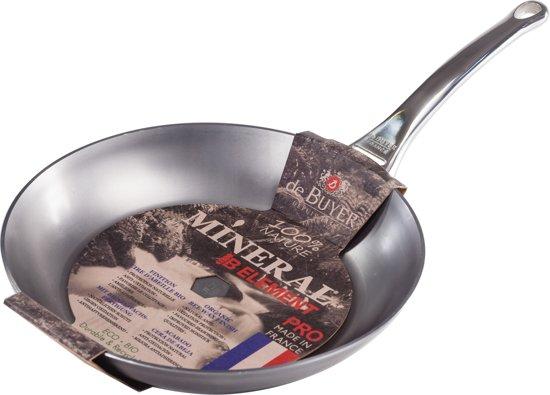De Buyer Mineral B Pro Koekenpan à 24 cm