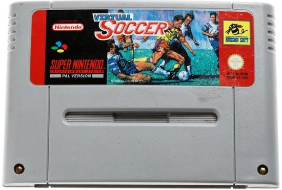 Virtual Soccer - Super Nintendo [SNES] Game [PAL]