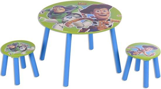 Kindertafel met 2 krukjes Toy Story