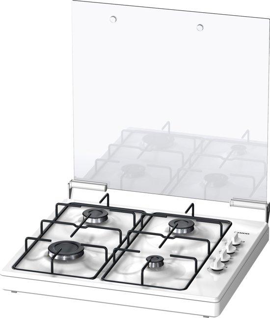 Siemens EB0C2PY80N iQ100- Gas Kookplaat - Wit