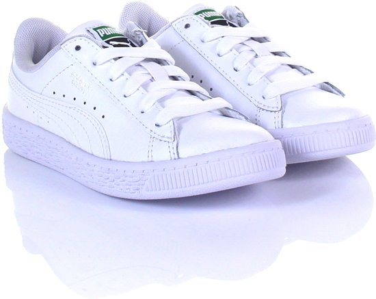 7a14a5ee267 Puma Dames Sneakers Basket Classic Lfs - Wit - Maat 30