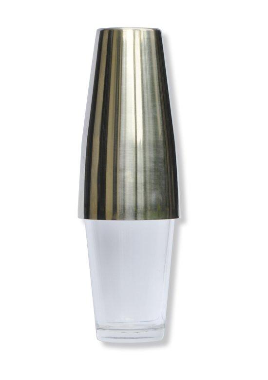 Point-Virgule Cocktailshaker - Boston Shaker - Met mixglas - 750ml