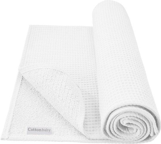 Cottonbaby - Wiegdeken Gevoerd 75x90 cm - Wit