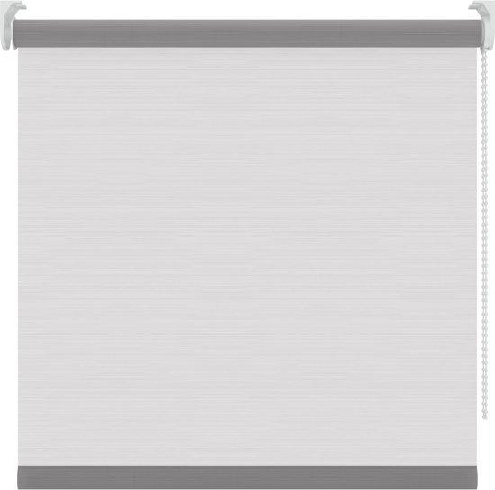 Rolgordijnen - streep wit - Lichtdoorlatend - 120x190 cm