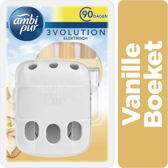 Ambi Pur Electrische Luchtverfrisser 3Volution Starterkit + Navulling Vanilla Harmony