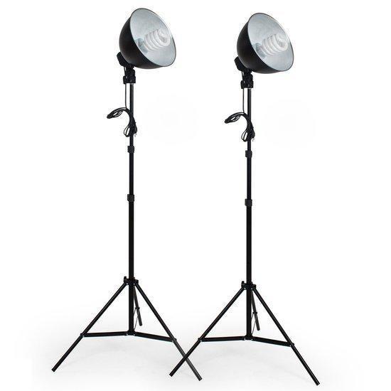 TecTake studiolampen - 2x studiolamp - fotolamp fotografie - 400895