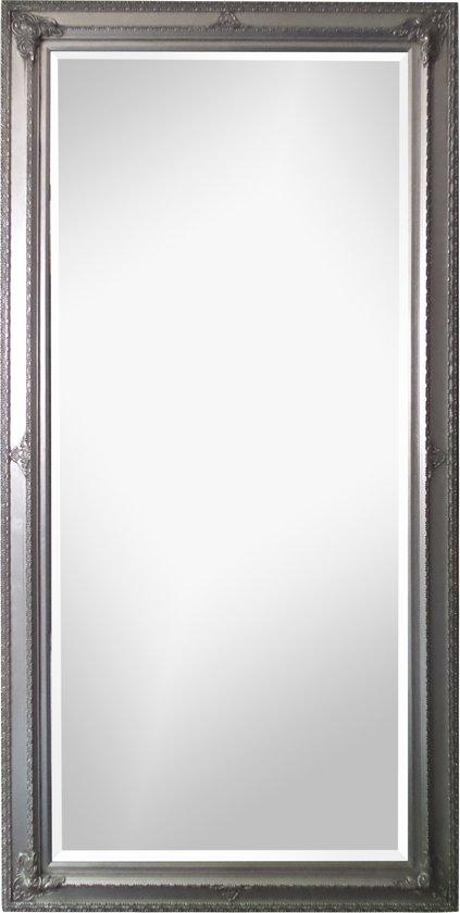 spiegel eva zilver buitenmaten breed 80 cm. Black Bedroom Furniture Sets. Home Design Ideas