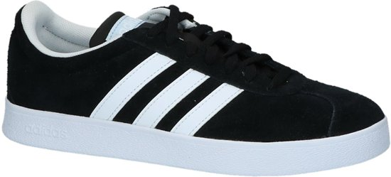 adidas VL Court 2.0 sneakers zwart   wehkamp