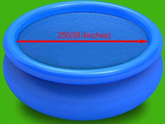 vidaXL - Zwembad afdekzeil 250 cm. 90343