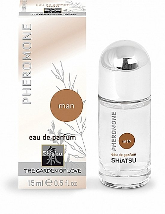 SHIATSU Pheromone Perfume man - 15 ml
