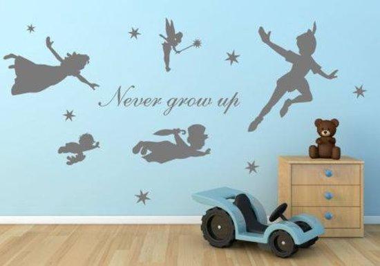 Muurstickers Disney Babykamer.Disney Peter Pan Muur Sticker Muursticker Tinkerbell
