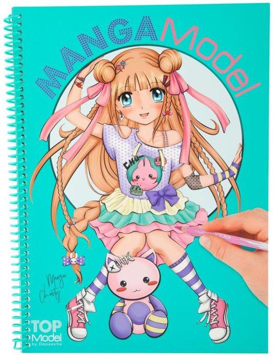 Wonderbaar bol.com | TopModel - MangaModel Kleurboek, TOPModel | Speelgoed ZS-94