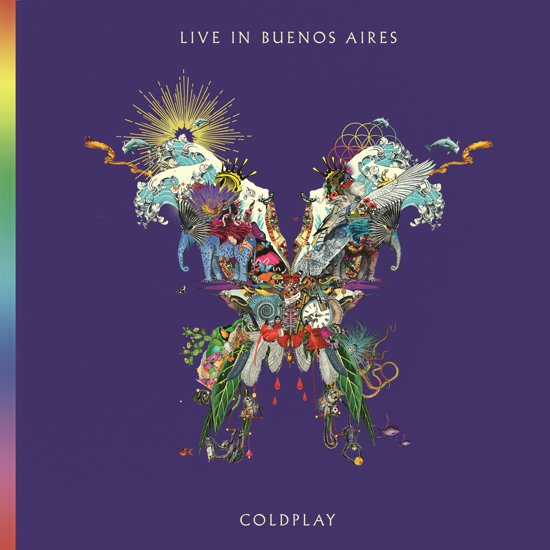CD cover van Live In Buenos Aires (CD) van Coldplay