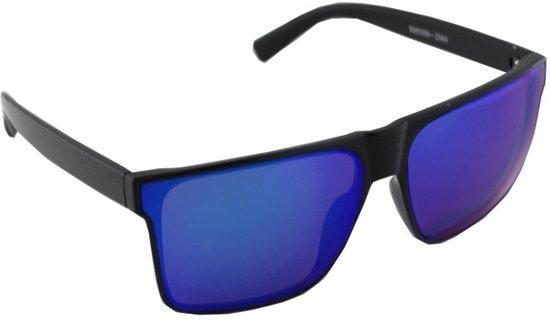 Zonnebril UV 400 Vierkant Zwart Paars Meerkleurig 2594_2