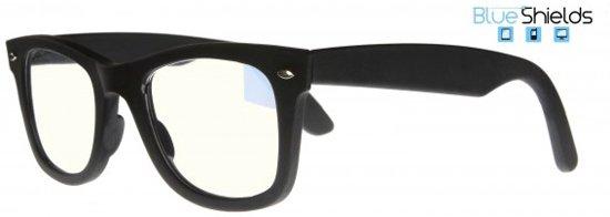 8dc8ae11fa55f5 Icon Eyewear TFB300 +2.00 BlueShields Leesbril - blauw licht filter lens - Mat  zwart