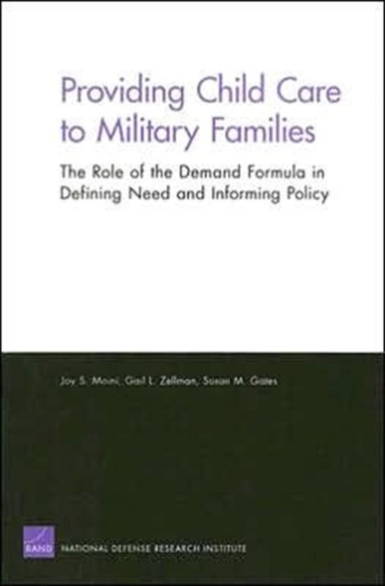 Providing Child Care to Military Families