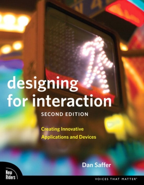 Designing for Interaction - Dan Saffer