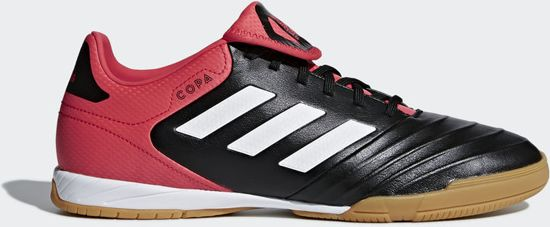 cb5a4c04fa2 Adidas Zaalvoetbalschoenen Copa Tango 18.3 IN - Heren - Zwart/Rood/Wit -  Maat