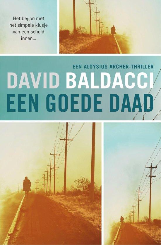 Boek cover Een goede daad van David Baldacci (Onbekend)