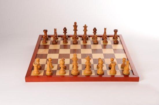 Afbeelding van Schaak/dambord 42 cm in shrink speelgoed