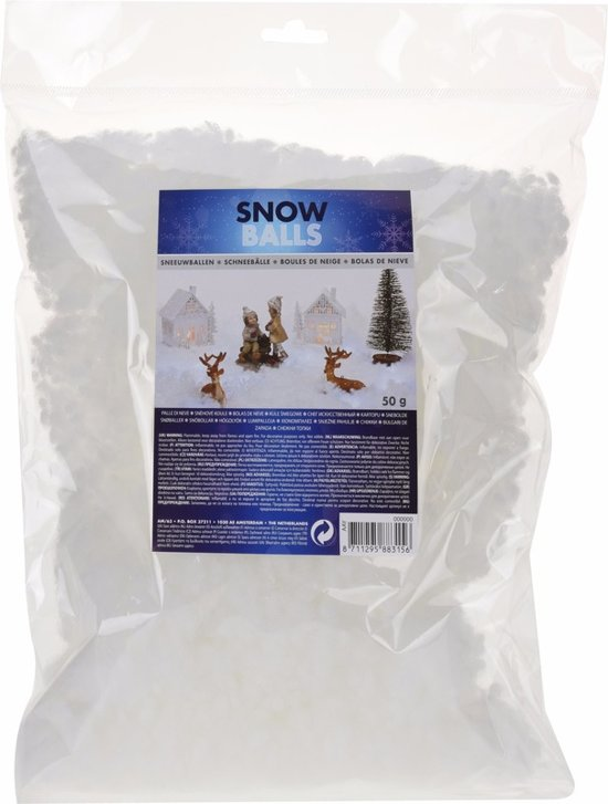 Sneeuwvlokken 50 gram