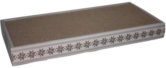 Happy Pet Karton met Catnip - Krabmat - 47 cm