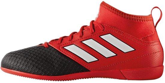 new style 2c1e1 e8e34 Adidas - ACE 17.3 Indoor Junior - ZwartRood - Zaalschoenen - RedFtwr