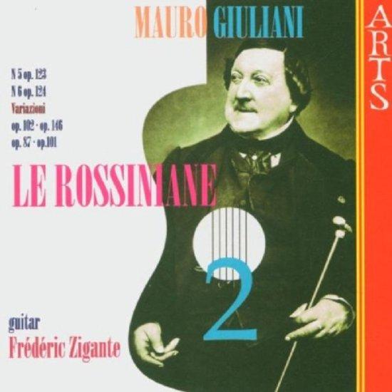 Giuliani: Le Rossiniane Vol 2 / Frederic Zigante