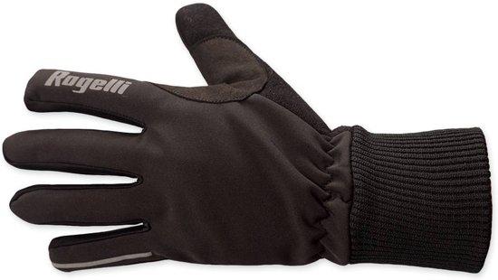 Rogelli kingston - Fietshandschoenen - Unisex -  Zwart - Maat XXXL