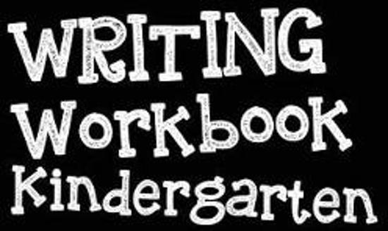 Writing Workbook Kindergarten